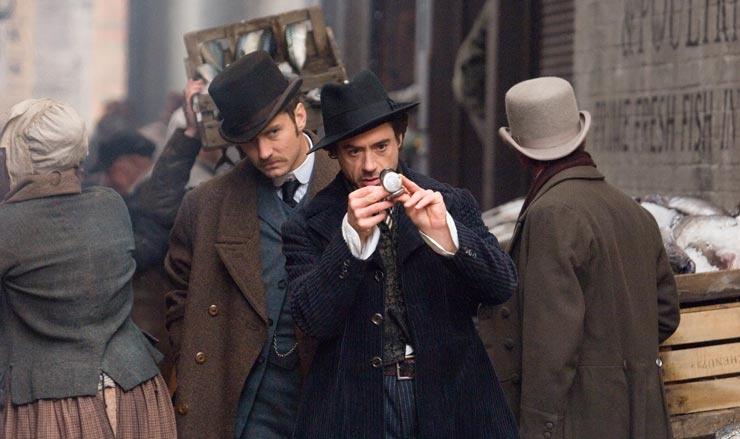 Sherlock Holmes (2009) : Robert Downey Jr., Jude Law