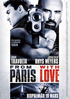Poster From Paris with Love (2010)