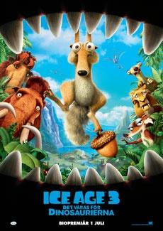 Poster Ice Age 3: Det våras för dinosaurierna (2009)