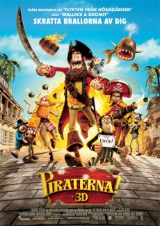 Poster Piraterna! (2012)