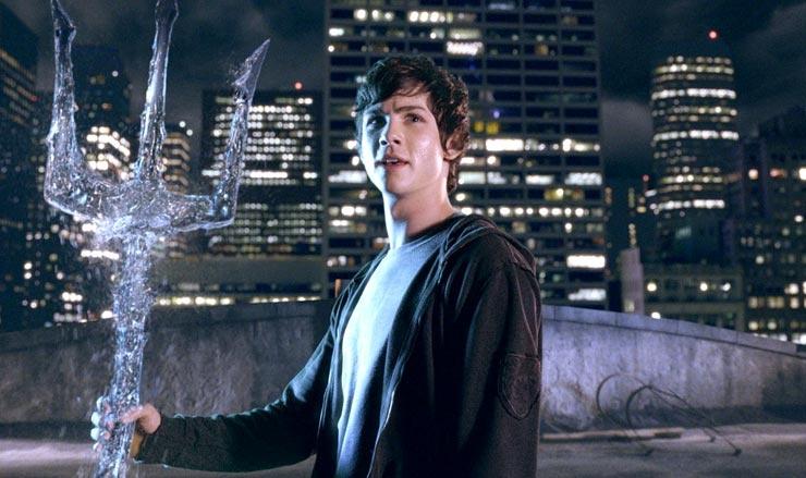 Percy Jackson och kampen om åskviggen (2010) : Logan Lerman