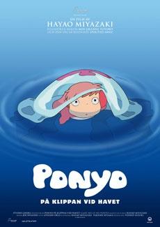 Poster Ponyo på klippan vid havet (2009)