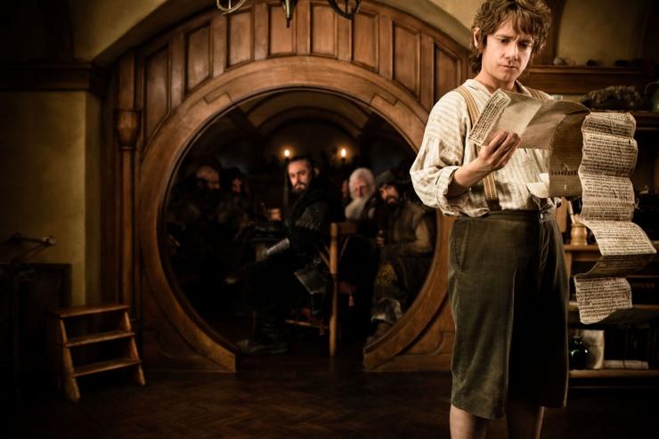 The Hobbit: En oväntad resa (2012) : Martin Freeman
