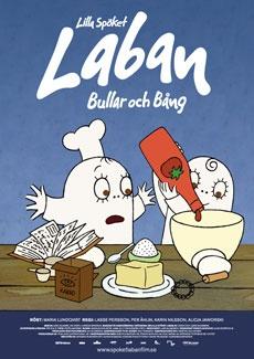 Poster Lilla Spöket Laban - Bullar och Bång (2009)