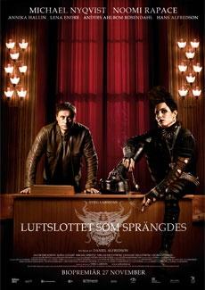 Poster Luftslottet som sprängdes (2009)