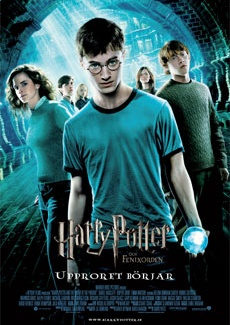 Poster Harry Potter och Fenixorden (2007)
