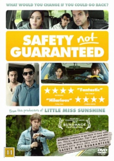 Poster Safety Not Guaranteed (2012)