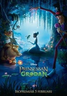 Prinsessan och grodan hela filmen gratis