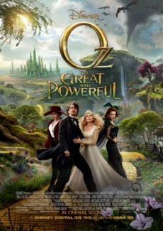 Poster Oz: The Great and Powerful (2013)