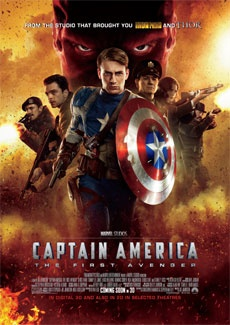 Poster Captain America: The First Avenger (2011)