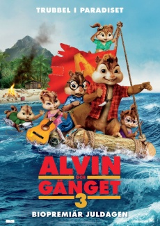 Poster Alvin och gänget 3 (2011)