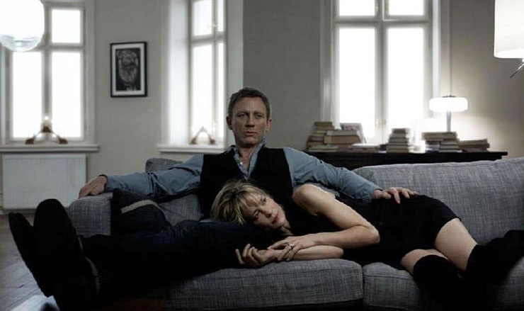 The Girl with the Dragon Tattoo (2011) : Daniel Craig, Robin Wright